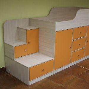 Детская кровать «Апельсин»