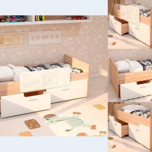 Детская кровать КДВ «Умка МДФ»
